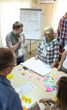 """The scrum laboratory"" for employees of RSM"